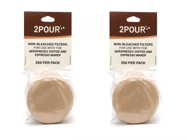 Non Bleached Aeropress Filters 700 Pack