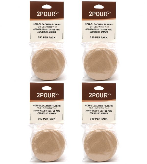 Non Bleached Aeropress Filters 1400 Pack